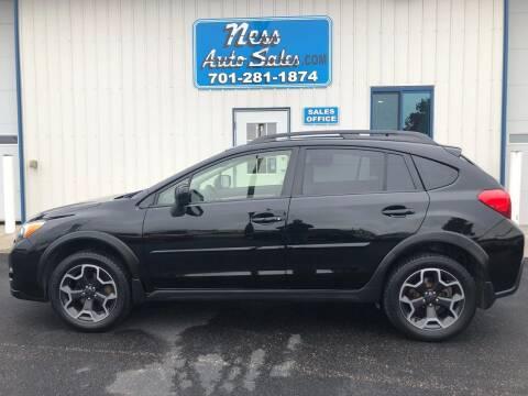 2014 Subaru XV Crosstrek for sale at NESS AUTO SALES in West Fargo ND