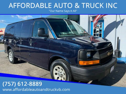2014 Chevrolet Express Cargo for sale at AFFORDABLE AUTO & TRUCK INC in Virginia Beach VA