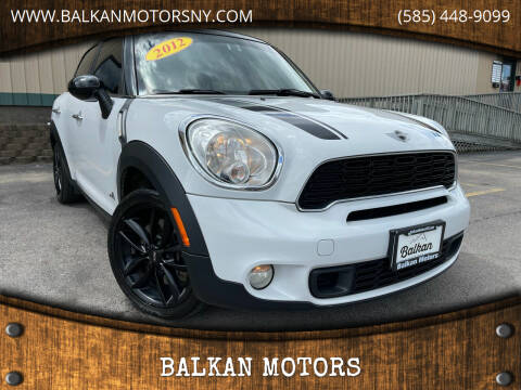 2012 MINI Cooper Countryman for sale at BALKAN MOTORS in East Rochester NY