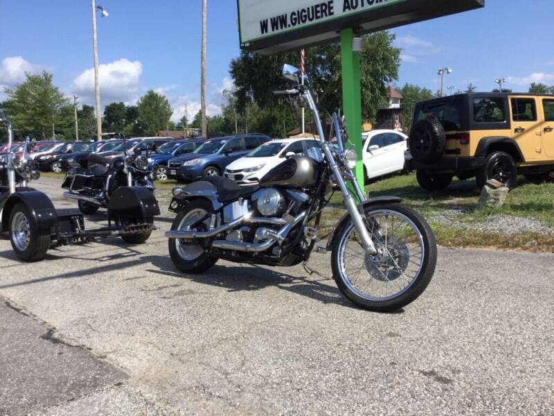 1997 HARLEY DAVIDSON SOFT TAIL for sale at Giguere Auto Wholesalers in Tilton NH
