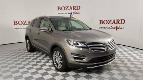 2017 Lincoln MKC for sale at BOZARD FORD in Saint Augustine FL