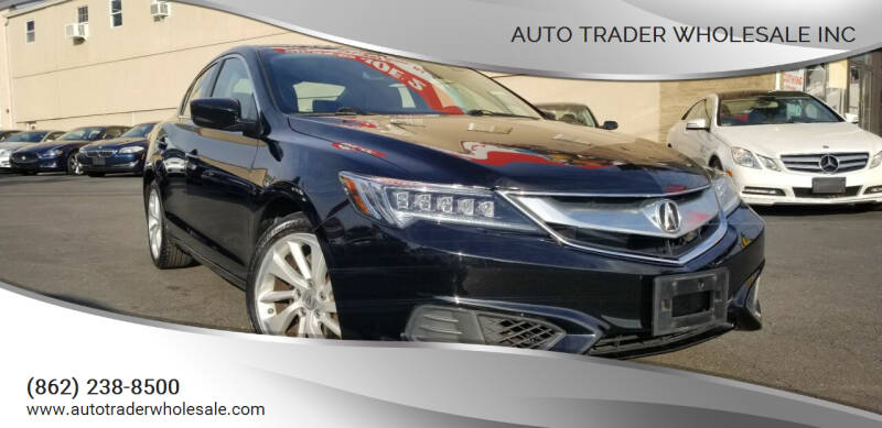 2016 Acura ILX for sale at Auto Trader Wholesale Inc in Saddle Brook NJ