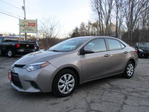 2015 Toyota Corolla for sale at AUTO STOP INC. in Pelham NH