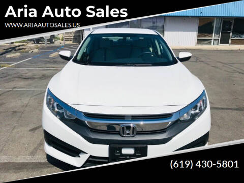 2018 Honda Civic for sale at Aria Auto Sales in El Cajon CA