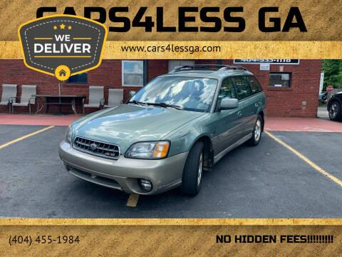 2003 Subaru Outback for sale at Cars4Less GA in Alpharetta GA