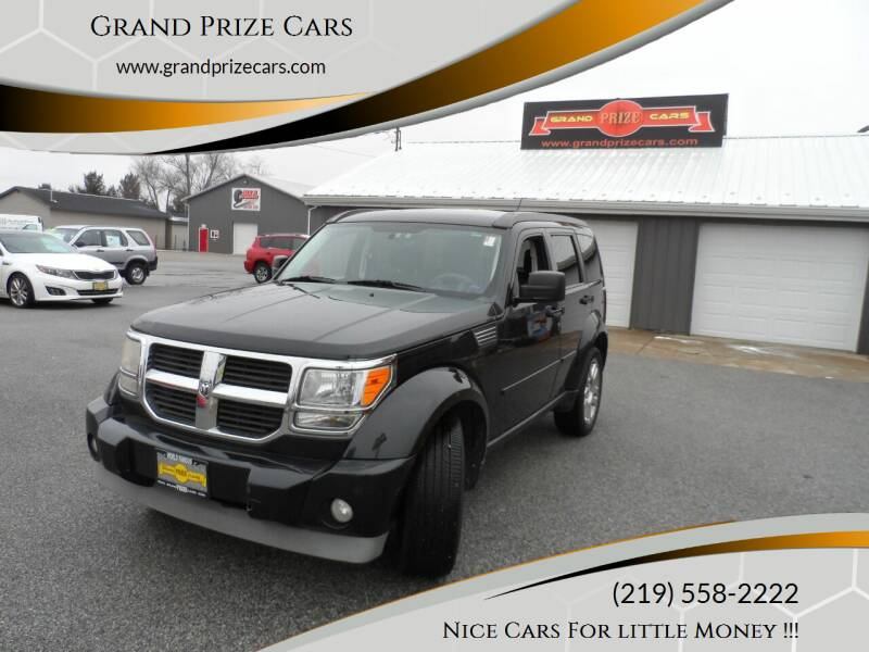 2010 Dodge Nitro for sale at Grand Prize Cars in Cedar Lake IN