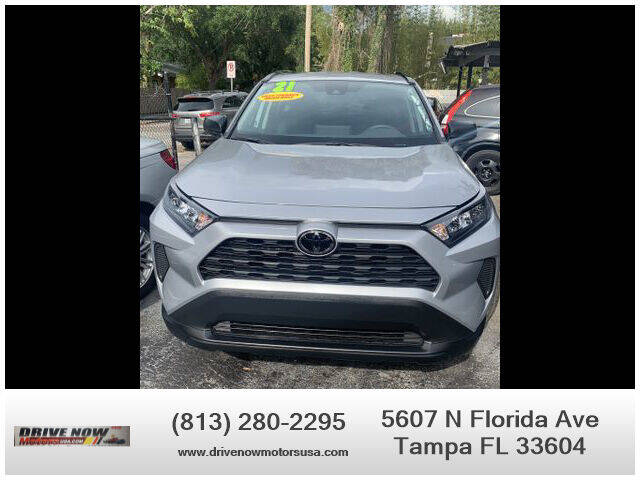 2021 Toyota RAV4 for sale at Drive Now Motors USA in Tampa FL