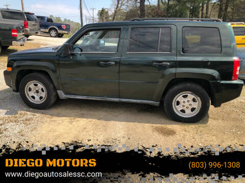 2010 Jeep Patriot for sale at DIEGO MOTORS in Lexington SC