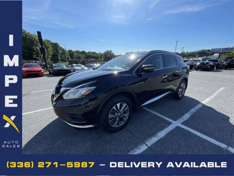 2015 Nissan Murano for sale at Impex Auto Sales in Greensboro NC