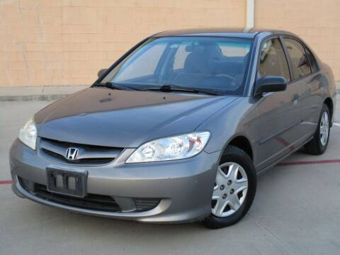 2005 Honda Civic for sale at Executive Motor Group in Houston TX