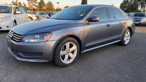 2013 Volkswagen Passat for sale at Universal Auto Inc in Salem OR