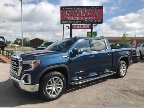 2021 GMC Sierra 1500 for sale at RAUL'S TRUCK & AUTO SALES, INC in Oklahoma City OK