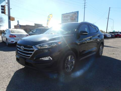 2017 Hyundai Tucson for sale at AUGE'S SALES AND SERVICE in Belen NM