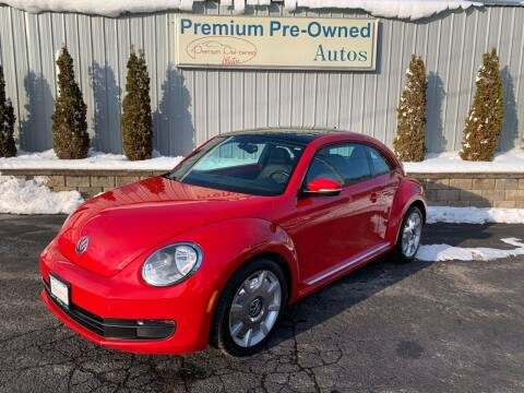 2016 Volkswagen Beetle for sale at PREMIUM PRE-OWNED AUTOS in East Peoria IL