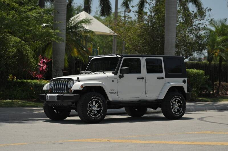 2010 Jeep Wrangler Unlimited for sale at EURO STABLE in Miami FL