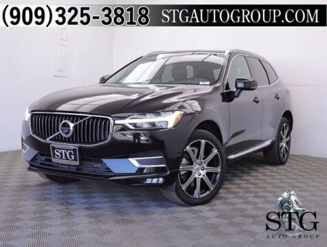 2018 Volvo XC60 for sale at STG Auto Group in Montclair CA