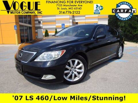 2007 Lexus LS 460 for sale at Vogue Motor Company Inc in Saint Louis MO
