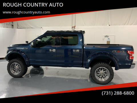 2018 Ford F-150 for sale at ROUGH COUNTRY AUTO in Dyersburg TN