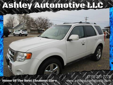 2010 Ford Escape for sale at Ashley Automotive LLC in Altoona WI
