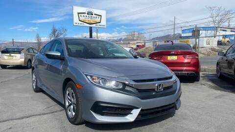 2018 Honda Civic for sale at CarSmart Auto Group in Murray UT
