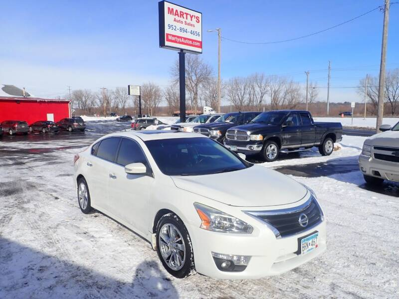 2013 Nissan Altima for sale at Marty's Auto Sales in Savage MN