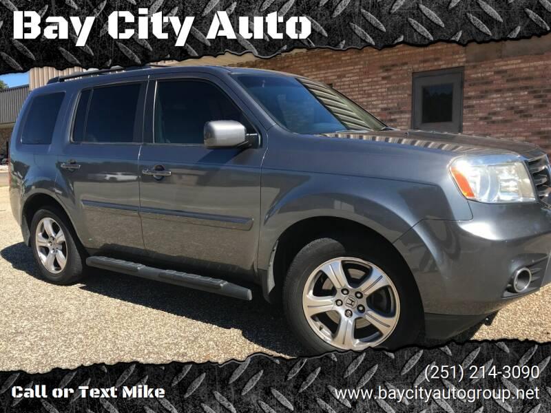 2012 Honda Pilot for sale at Bay City Auto's in Mobile AL