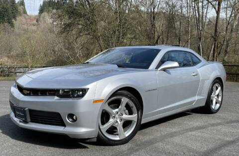 2015 Chevrolet Camaro for sale at Halo Motors in Bellevue WA
