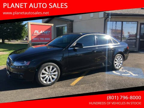 2009 Audi A4 for sale at PLANET AUTO SALES in Lindon UT