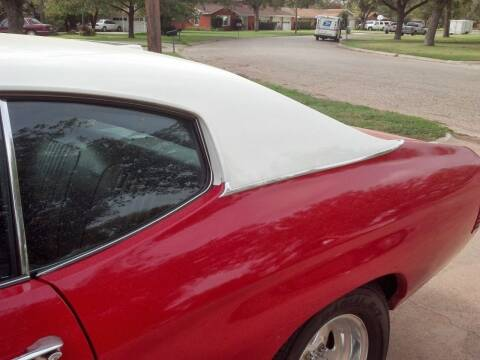 1971 Chevrolet Chevelle Malibu for sale at CLASSIC MOTOR SPORTS in Winters TX