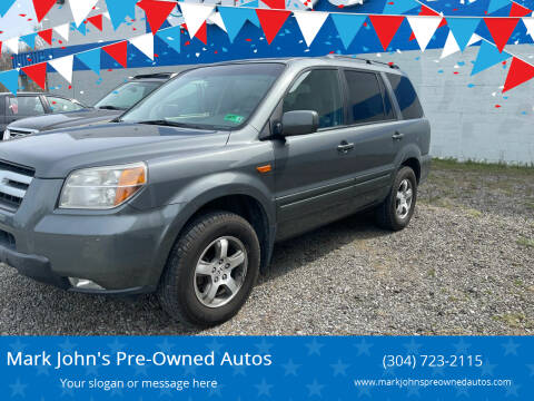 2008 Honda Pilot for sale at Mark John's Pre-Owned Autos in Weirton WV