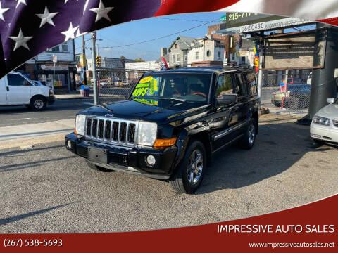 2007 Jeep Commander for sale at Impressive Auto Sales in Philadelphia PA