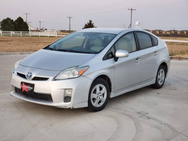2010 Toyota Prius for sale at Chihuahua Auto Sales in Perryton TX