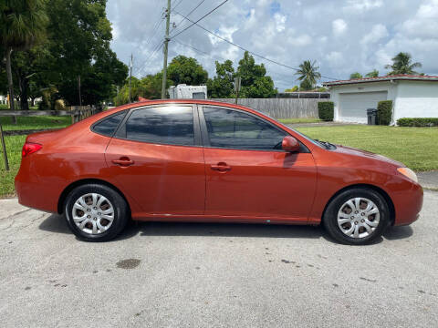 2009 Hyundai Elantra for sale at LESS PRICE AUTO BROKER in Hollywood FL