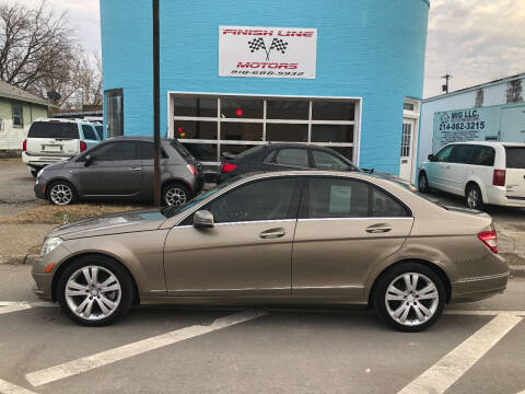 2010 Mercedes-Benz C-Class for sale at Finish Line Motors in Tulsa OK