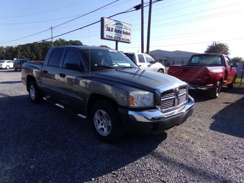 2005 Dodge Dakota for sale at J & D Auto Sales in Dalton GA