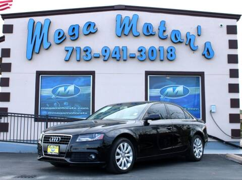2012 Audi A4 for sale at MEGA MOTORS in South Houston TX