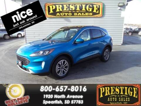 2020 Ford Escape for sale at PRESTIGE AUTO SALES in Spearfish SD