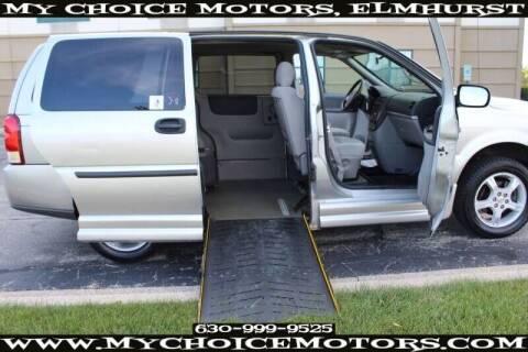 2008 Chevrolet Uplander for sale at My Choice Motors Elmhurst in Elmhurst IL