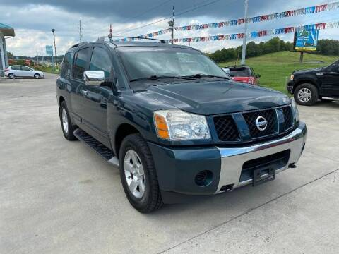 2004 Nissan Armada for sale at Autoway Auto Center in Sevierville TN