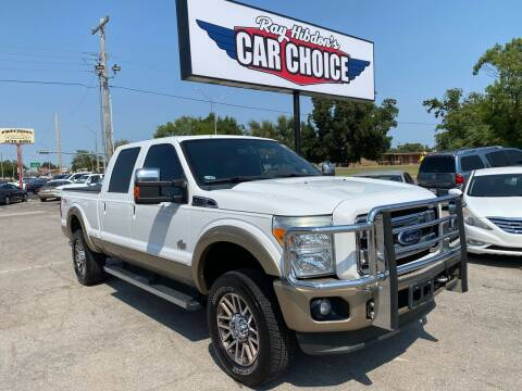 2011 Ford F-250 Super Duty for sale at Ray Hibdon's Car Choice in Oklahoma City OK