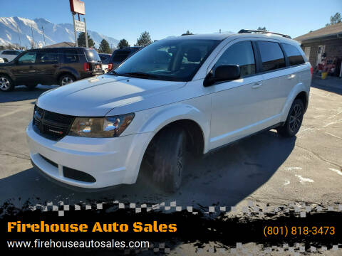 2018 Dodge Journey for sale at Firehouse Auto Sales in Springville UT