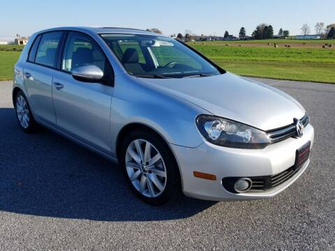 2011 Volkswagen Golf for sale at John Huber Automotive LLC in New Holland PA