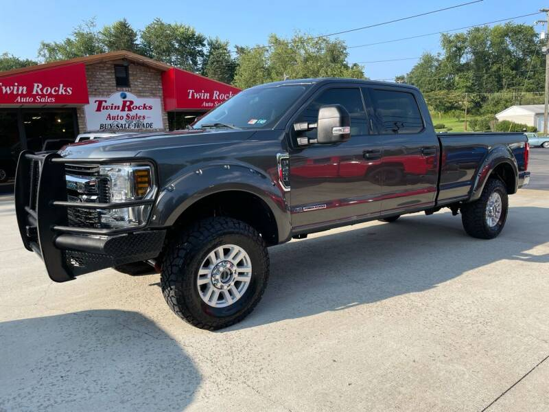 2018 Ford F-250 Super Duty for sale at Twin Rocks Auto Sales LLC in Uniontown PA