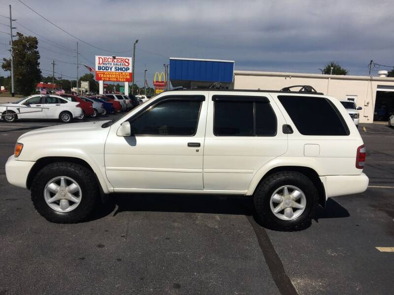 2001 Nissan Pathfinder for sale at Deckers Auto Sales Inc in Fayetteville NC