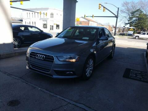 2014 Audi A4 for sale at ROBINSON AUTO BROKERS in Dallas NC