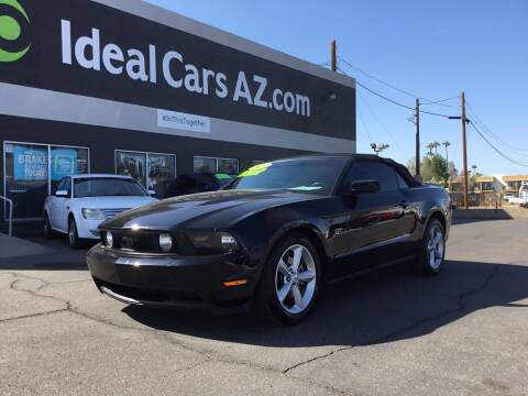 2010 Ford Mustang for sale at Ideal Cars in Mesa AZ