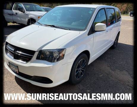 2016 Dodge Grand Caravan for sale at Sunrise Auto Sales in Stacy MN