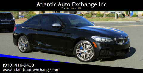 2016 BMW 2 Series for sale at Atlantic Auto Exchange Inc in Durham NC