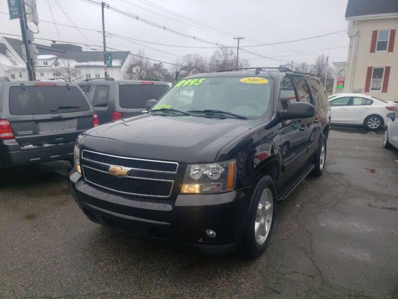 2007 Chevrolet Suburban for sale at TC Auto Repair and Sales Inc in Abington MA