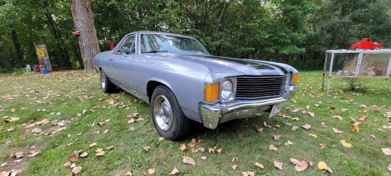 1972 Chevrolet El Camino for sale at Midwest Classic Car in Belle Plaine MN